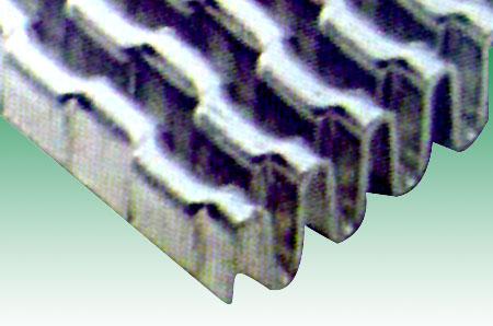 锯齿型翅片