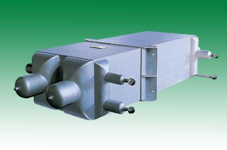 铝制换热器分解图