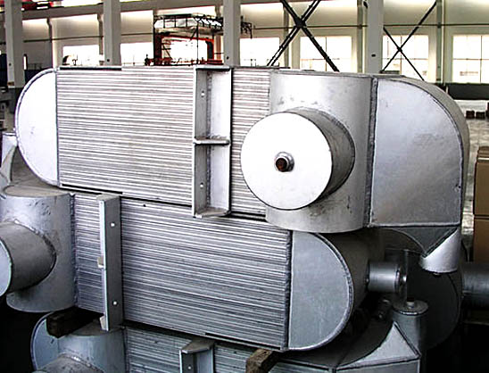 Exchanger for air separation equipment